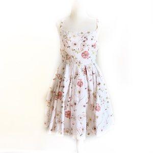 BB Dakota Dresses - BB Dakota Galilee Floral Print Summer Dress